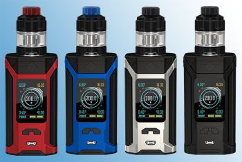 Wismec Sinuous Ravage230 + Gnome Verdampfer Set