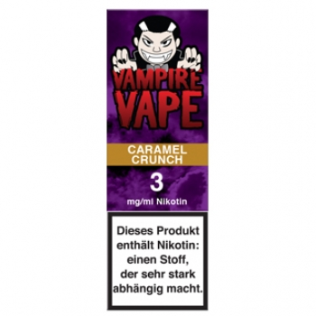 Vampire Vape Caramel Crunch 10ml Liquid