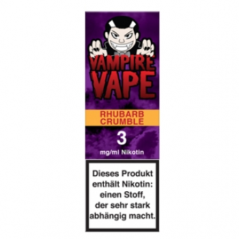 Vampire Vape Rhubarb Crumble 10ml Liquid