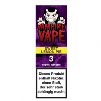 Vampire Vape Sweet Lemon Pie 10ml Liquid