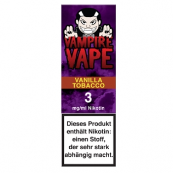 Vampire Vape Vanilla Tobacco 10ml Liquid