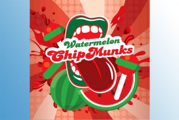 Big Mouth Watermelon Chip Munks Aroma Wassermelonenlolipops