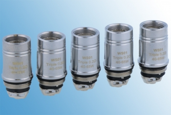 5 x Wismec WS01 Triple Coils (1 Packung)