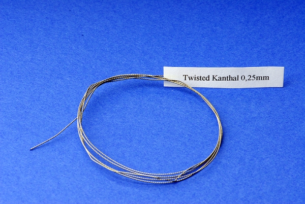 Twisted Kanthal - gedrehter Kanthaldraht - smart24.net