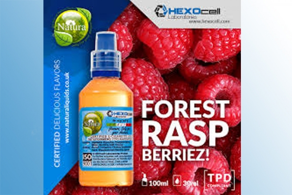 Forest Raspberriez – Hexocell Liquid 30ml Wald-Himbeeren