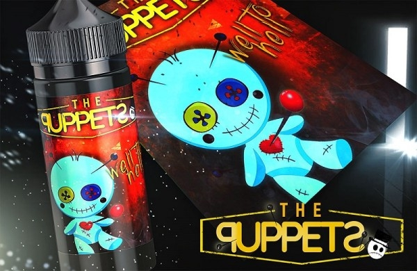Well to Hell The Puppets Aroma 10ml leckere Bananencreme verfeinert mit Zimt