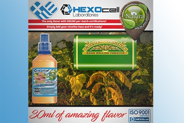 Virginia – Hexocell Liquid 30ml Virginia Tabak