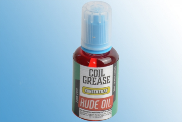 rude oil coil grease