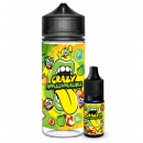 Crazy Apples and Peaches Big Mouth Aroma 10ml / 120ml süße Apfel und Pfirsich Bonbons